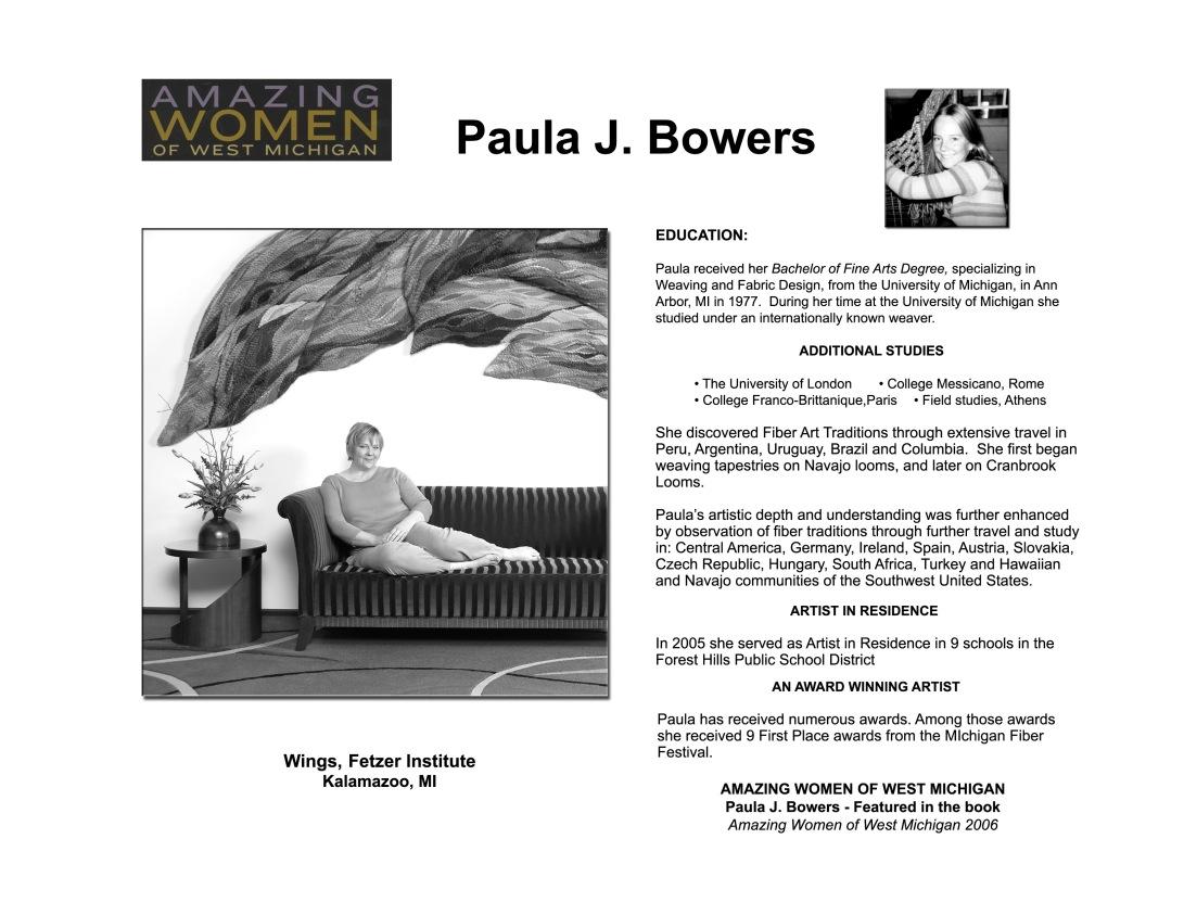 The Artist p 2 Paula Website